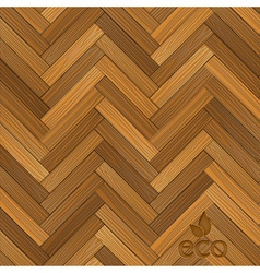Wood parquet floor vector