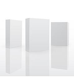 blank software box vector image