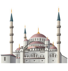Mosque in istanbul vector