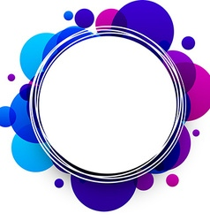 Blue and purple background vector
