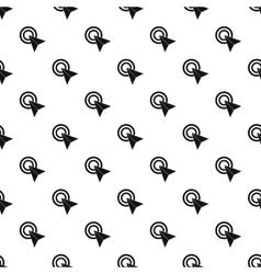 Computer arrow cursor pattern simple style vector