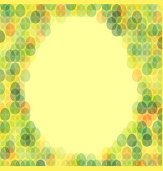 Easter card with space for text vector