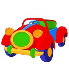 Toy cabriolet vector