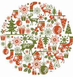Christmas graphics vector