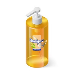 Shampoo icon vector