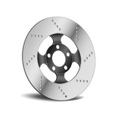 Disk break vector