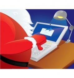 Santa Claus buy online vector image vector image