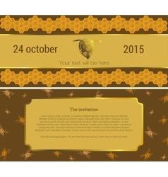 The invitation 11 vector