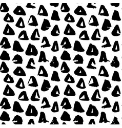triangle hand drawn seamless pattern vector image vector image