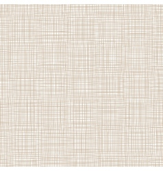 Background With Threads Natural Linen vector image