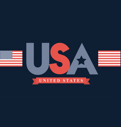 United states of america design vector