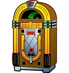 Vintage Jukebox vector image