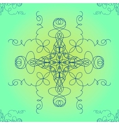 Ornamental abstract  eps10 vector