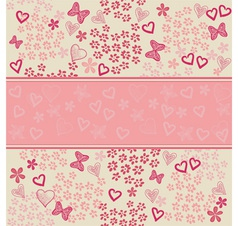 Doodle template vector image