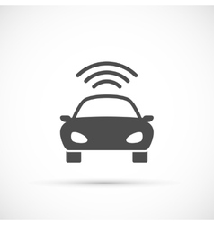 Car basic icon vector image vector image