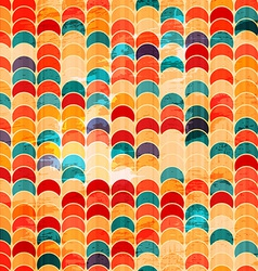 colored circle grunge seamless vector image vector image