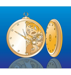 clockwork vector image