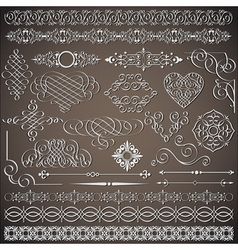 Vintage design elements vector