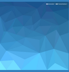 blue abstract background with geometric shapes vector image