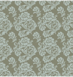 ornament floral curtains vector image