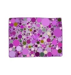 Picture of purple circles on gray vector