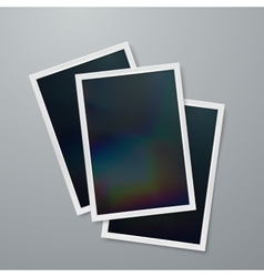 Instant photo frames vector