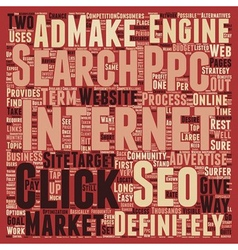 Jp ppc and seo 1 text background wordcloud concept vector