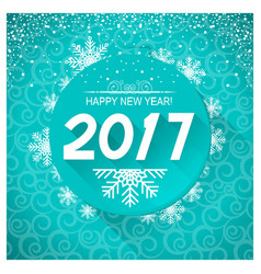 new year card background vector image