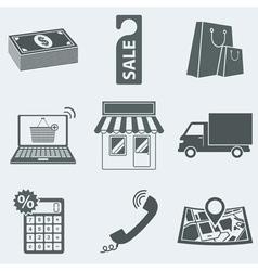 shop vector image vector image