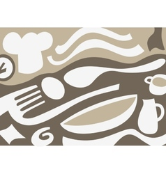 Cookery - abstract background vector