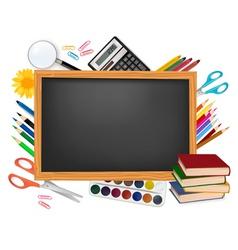 design back to school vector image
