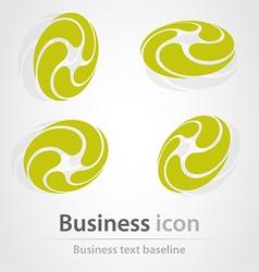 Originally created business icon vector image
