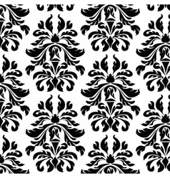 Classic style acanthus ornament pattern vector