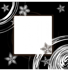 picture frame design vector image vector image