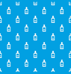 plastic bottle pattern seamless blue vector image