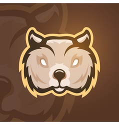 Wombat sport mascot vector