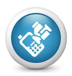 Cellphone repair icon vector