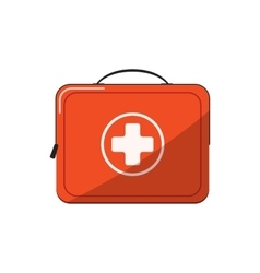 First aid kit vetor icon vector