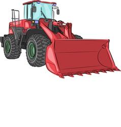 Bulldozer v vector