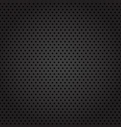 Dark metal cell background vector image
