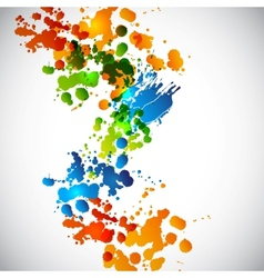 Splash background vector image vector image