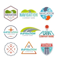 Navigation label set vector