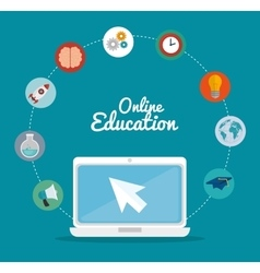 Elearning and education vector