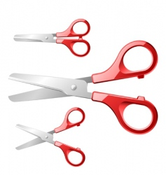 scissors vector image