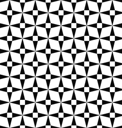 Seamless monochromatic triangle pattern vector