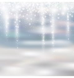 Light silver and white christmas background with vector