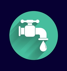 Faucet icon button logo symbol concept vector