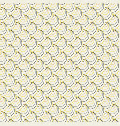 contrast shell pattern abstract seamless texture vector image vector image