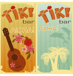 Hawaiian party vector image vector image