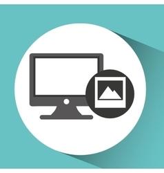 technology monitor pc image photo vector image